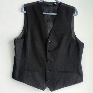 Claiborne men's black vest